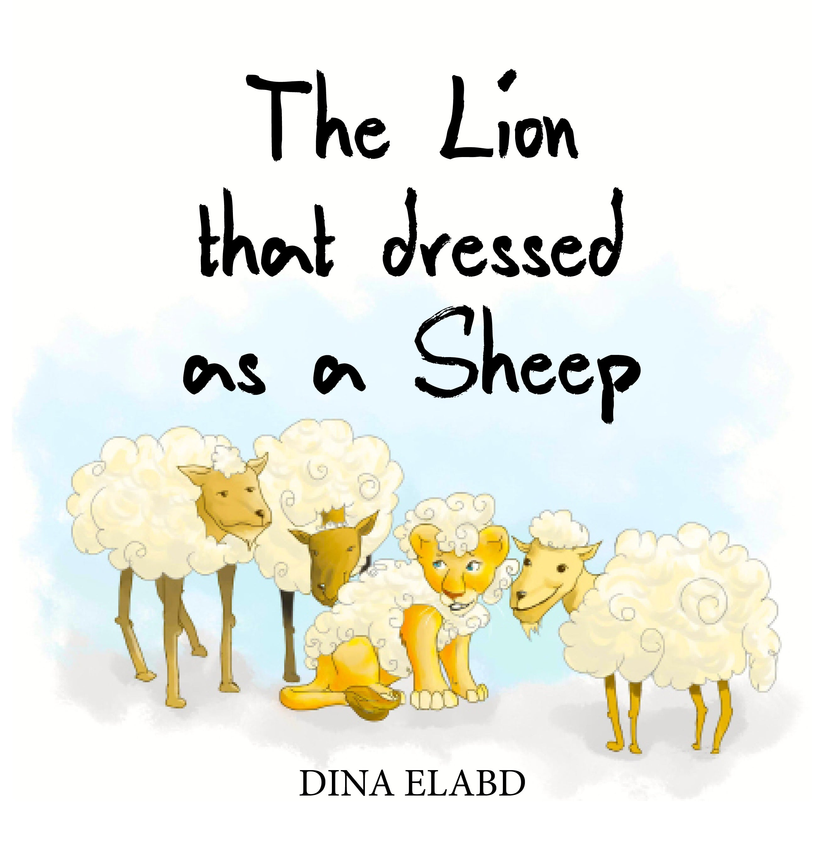 The Lion that Dressed as a Sheep