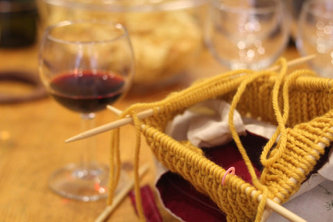 Yarn And Wine Tasting