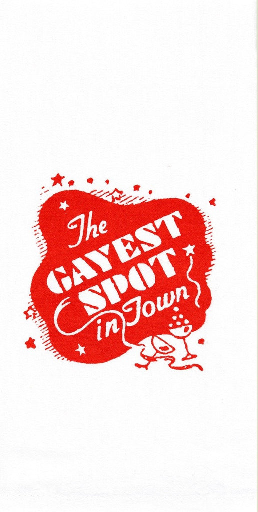 The Gayest Spot In Town Retro Towel