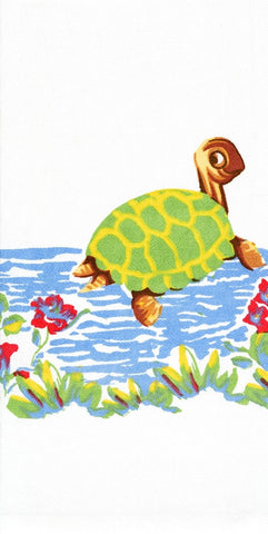 Bob the Turtle Retro Dish Towel