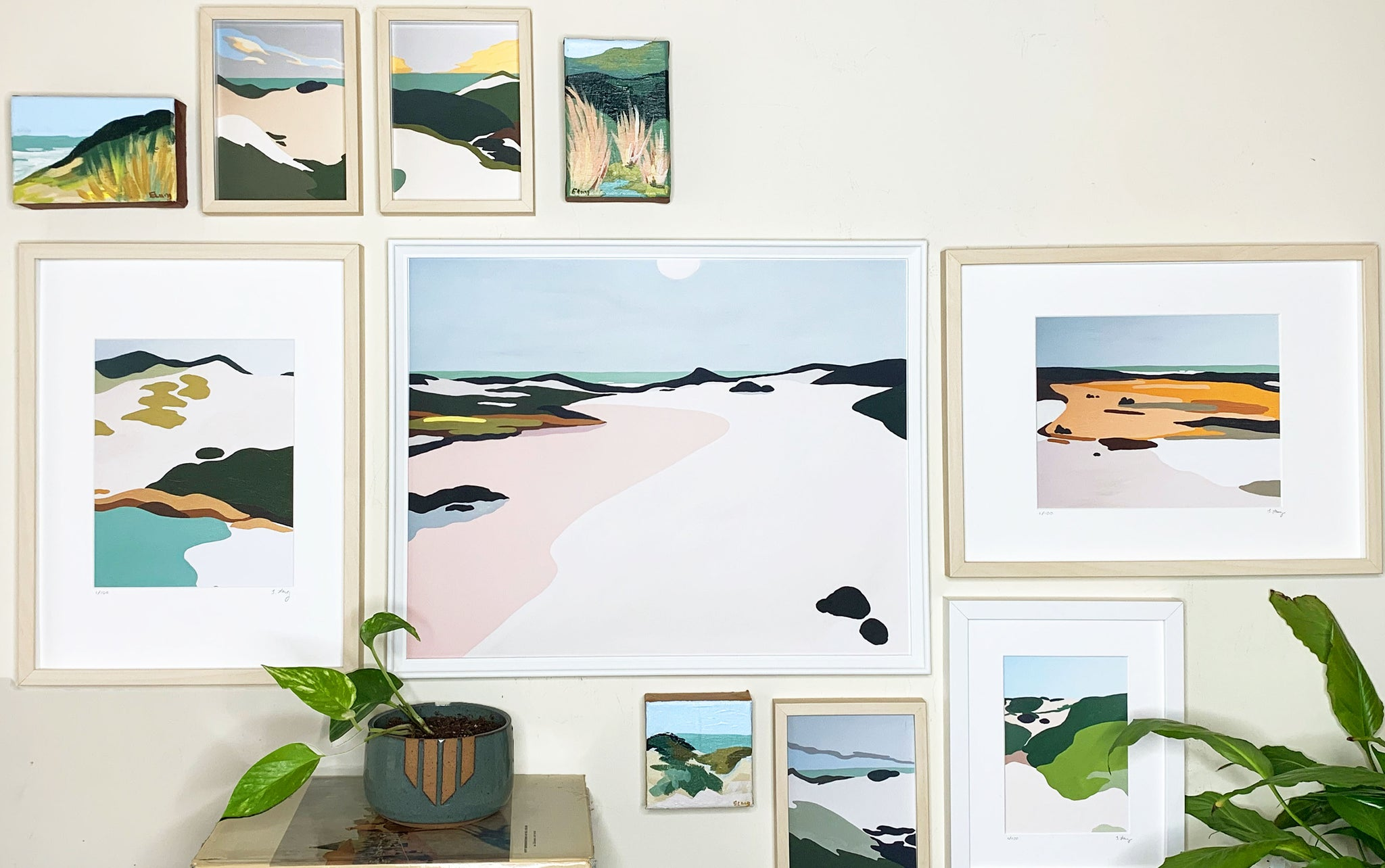 How to Make a Beautiful Gallery Wall