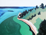 Pictured Rocks Michigan Elizabeth Lang Art