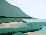 Praia Portugal Anne Irwin Fine Art Elizabeth Lang Between the Evergreens