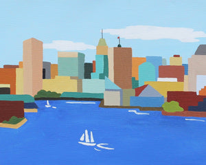 Baltimore Maryland Limited Edition Print