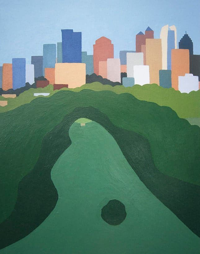 Piedmont Park Atlanta Limited Edition Print