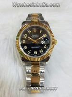Rolex Datejust Black Dial Automatic Movement Watch For Women