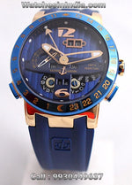 Ulysse Nardin El Toro Blue Swiss ETA Luxury Watch