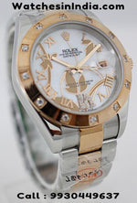 Rolex Datejust Dual Tone Bracelet Limited Edition Watch