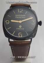 Radiomir Panerai Black Case Engraving Limited Edition Swiss ETA Watch