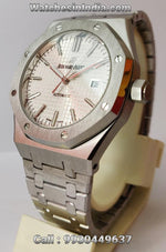 Audemars Piguet Royal Oak White Dial Automatic Watch