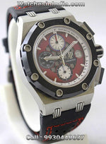 Audemars Piguet Royal Oak Rubens Barrichello Edition Swiss ETA 7750 Valjoux Movement Watch