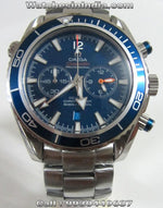 Omega Seamaster Professional Chronometer Blue Dial Watch