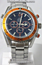 Omega Seamaster Quantum Of Solace 007 James Bond Chronograph Watch