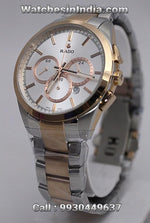 Rado Hyperchrome Dual Tone Rose gold Steel Bracelet Watch