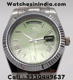 Rolex Day-Date Green Dial Automatic Watch