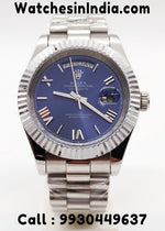 Rolex Day-Date Blue Dial Swiss Automatic Watch