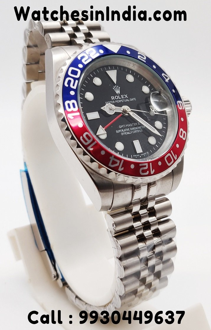 Rolex Gmt Master 2 Pepsi Limited Edition Automatic Watch