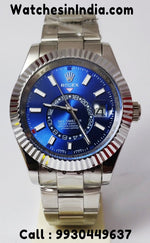 Rolex Sky-Dweller Blue Dial Swiss ETA Watch