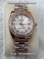 Rolex Datejust Pearl Dial Replica Watch For Women