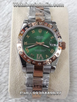 Rolex Datejust Green Dial 1st Copy Watch For Women