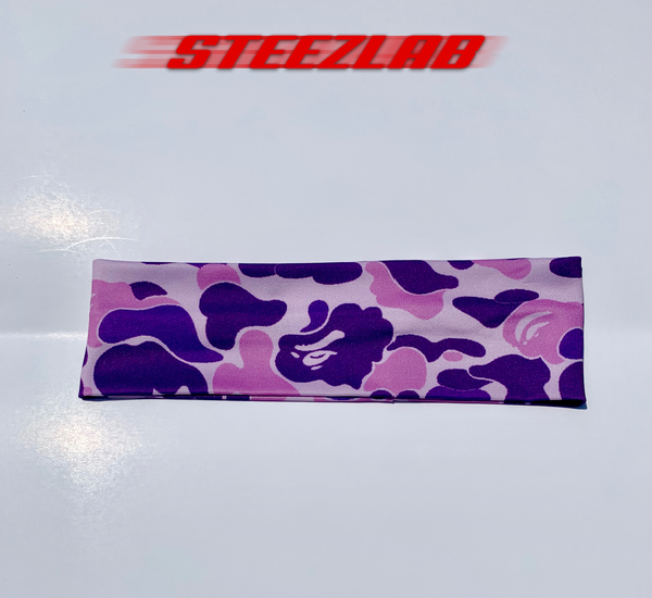 Purple Ape Headband
