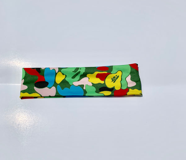Multi Camo Ape Headband