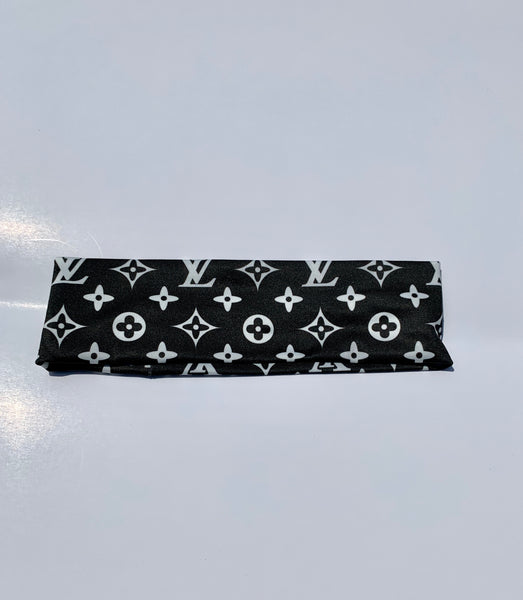 Black & White LV Headband