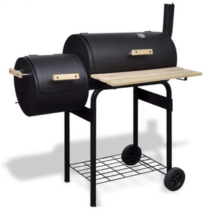 Barrel Offset Barbecue Smoker