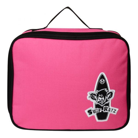 Surf Ratz Board Logo Lunch Bag – Pink