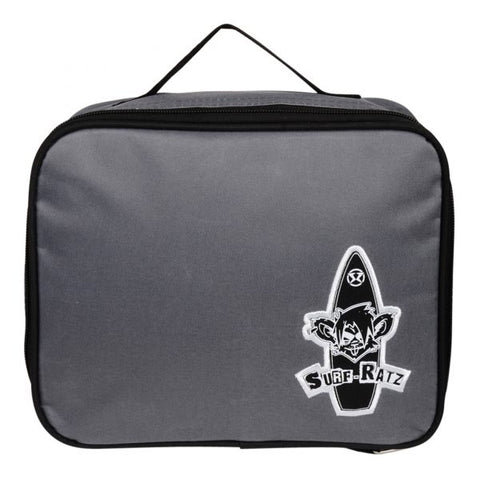 Surf Ratz Board Logo Lunch Bag – Grey