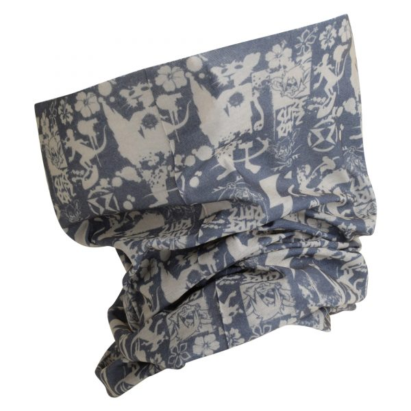 SuperGrunge UV Protection Bandana – Slate/Stone - surf-ratzz