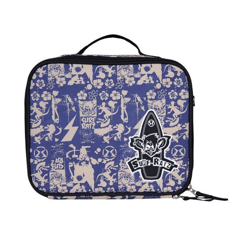 Surf Ratz SuperGrunge Lunch Bag – Blue/Stone
