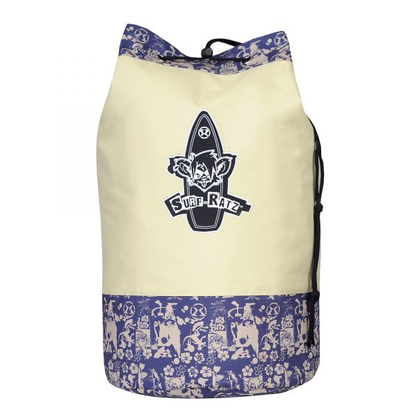 Surf Ratz SuperGrunge Duffle Bag – Blue/Stone - surf-ratzz