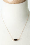 "Limited Edition 16-18"" Smokey Quartz Herringbone Necklace"