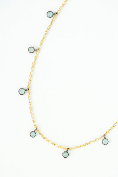 "Limited Edition 19.5-21.5"" Chalcedony Necklace"