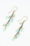 Limited Edition Chalcedony Dangle Earrings