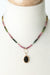 "One of a Kind 16.5-18.5"" Tourmaline, Muscovite Focal Necklace"