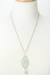 "One of a Kind 21-23"" Chalcedony Focal Necklace"