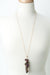"Limited Edition 32"" Tourmaline, Smokey Quartz Cluster Necklace"