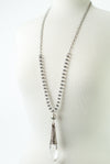 "Limited Edition 32-34"" Quartz Focal Necklace"