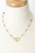 "Limited Edition 19-21"" Lemon Quartz, Smokey Quartz, Golden Rutilated Quartz Focal Necklace"