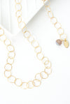 "Limited Edition 30"" Simple Gold Filled Chain Necklace"