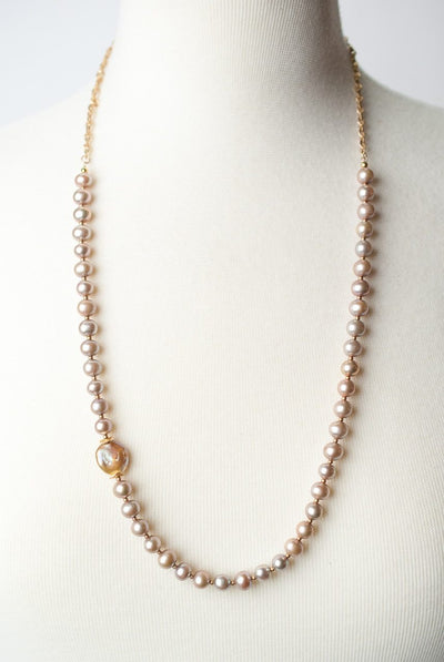 "Radiance 29-31"" Long Pearl Necklace"