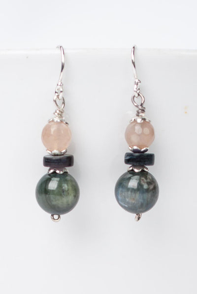 Cascades Simple Kyanite Drop Earrings