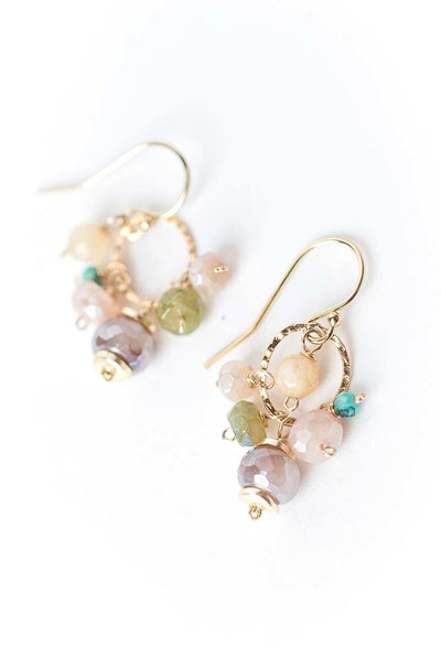 Cody's Call Gemstone Cluster Earrings