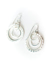 *Baja Sterling Silver Hoop Earrings