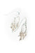Bloom Small Sterling Silver Hoop Cluster Earrings