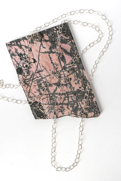 "Blush 42-44"" Simple Silver Chain Necklace"