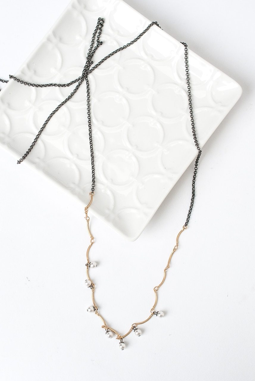 "Cosmos 34-36"" Simple Layer Necklace"