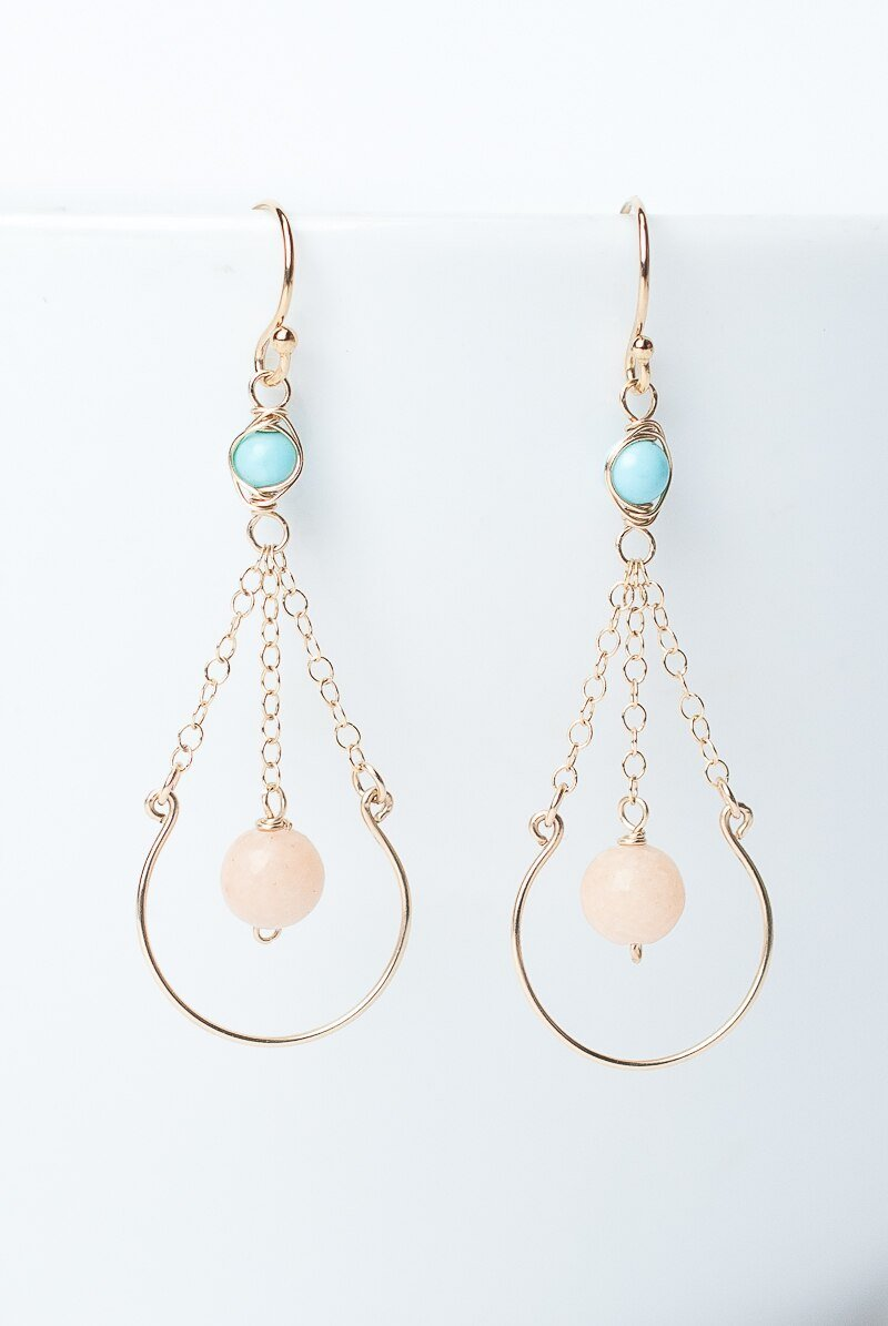 Canyon Simple Dangle Earrings